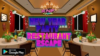 Knf New Year Party Restaurant Escape walkthrough