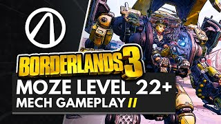 BORDERLANDS 3 | Level 22+ MOZE Bottomless Mags Skill Tree Gameplay