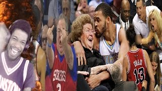 NBA PLAYERS REACTING TO THE FANS REACTION!