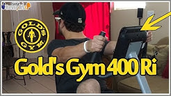 Golds Gym Cycle Trainer 400 Ri Review