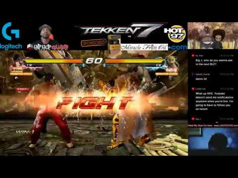 TEKKEN 7 CHALLENGE | HipHopGamer Vs The World Ep.1 | 4K PC GAMEPLAY GTX 1080Ti