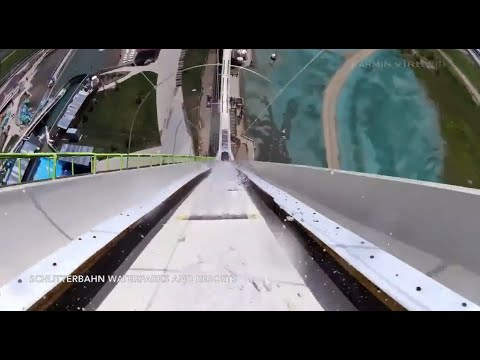 World's Tallest Water Slide | POV Video