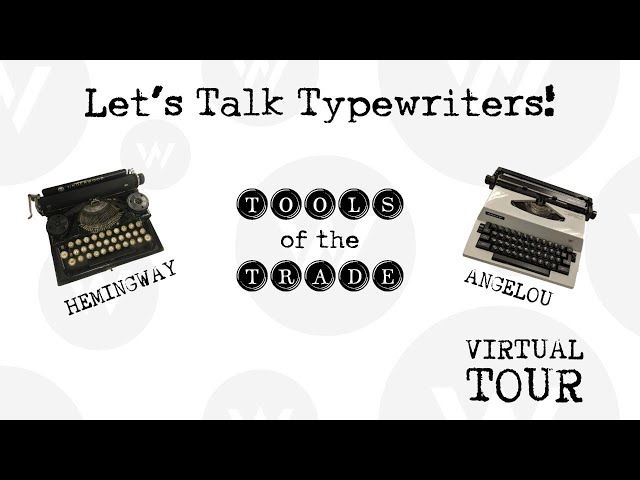 Let's Talk Typewriters!