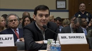 Reviled pharmaceutical CEO Shkreli outdoes himself