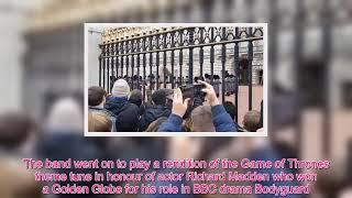 Queen Royal -  Royal Guards play Bohemian Rhapsody at the Palace