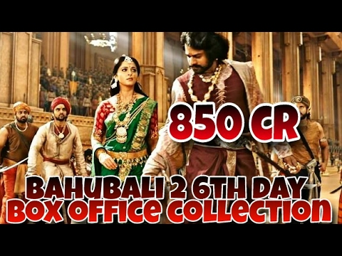 Thumbnail: Bahubali 2 box office collection 6th day |worldwide Total collection