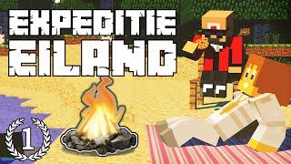 """Expeditie Eiland #1 - """"WELKOM op het EILAND!"""" - Minecraft Reality"""
