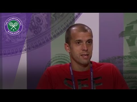 Gilles Muller Wimbledon 2017 fourth round press conference