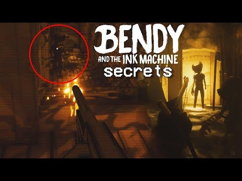 TOMMY GUN! TIME TO KILL BENDY   Bendy And The Ink Machine (Chapter 3 Secrets)