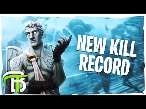 NEW SOLO KILL RECORD (Fortnite Battle Royale)