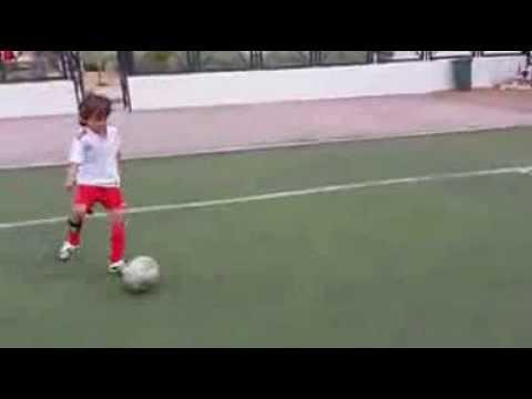 football u9 Tunisie ; alternance passe courte passe longue  // CFFA // E .F .Ramzi ben othmen