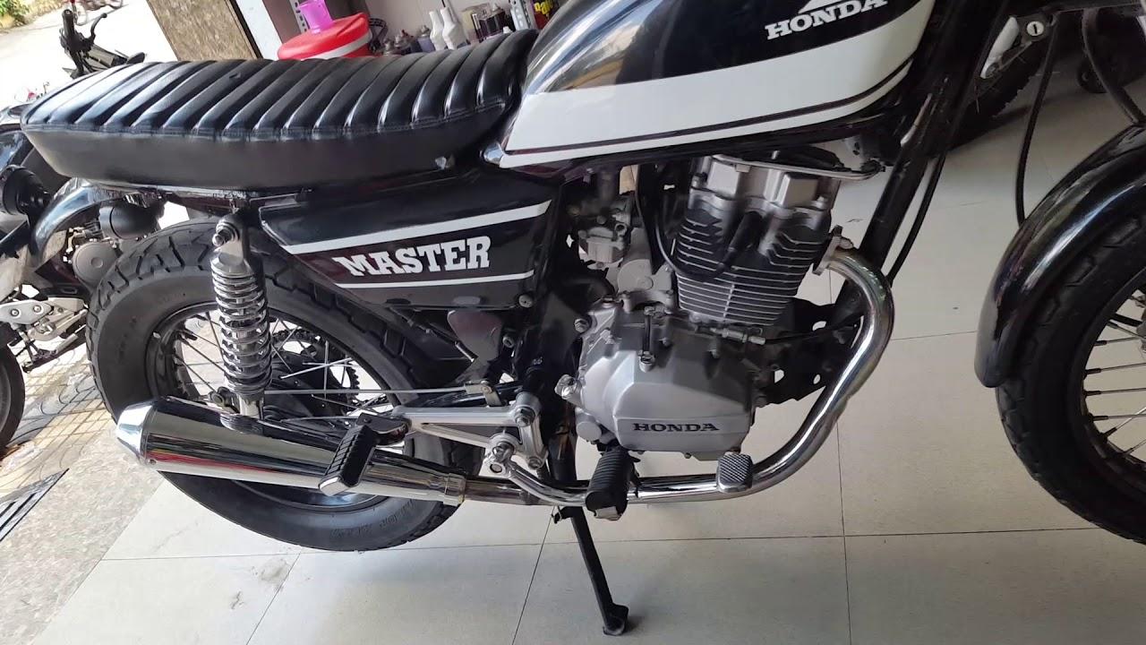 [ DRS-Motor ] honda master 125 lên pô emgo cực đẹp