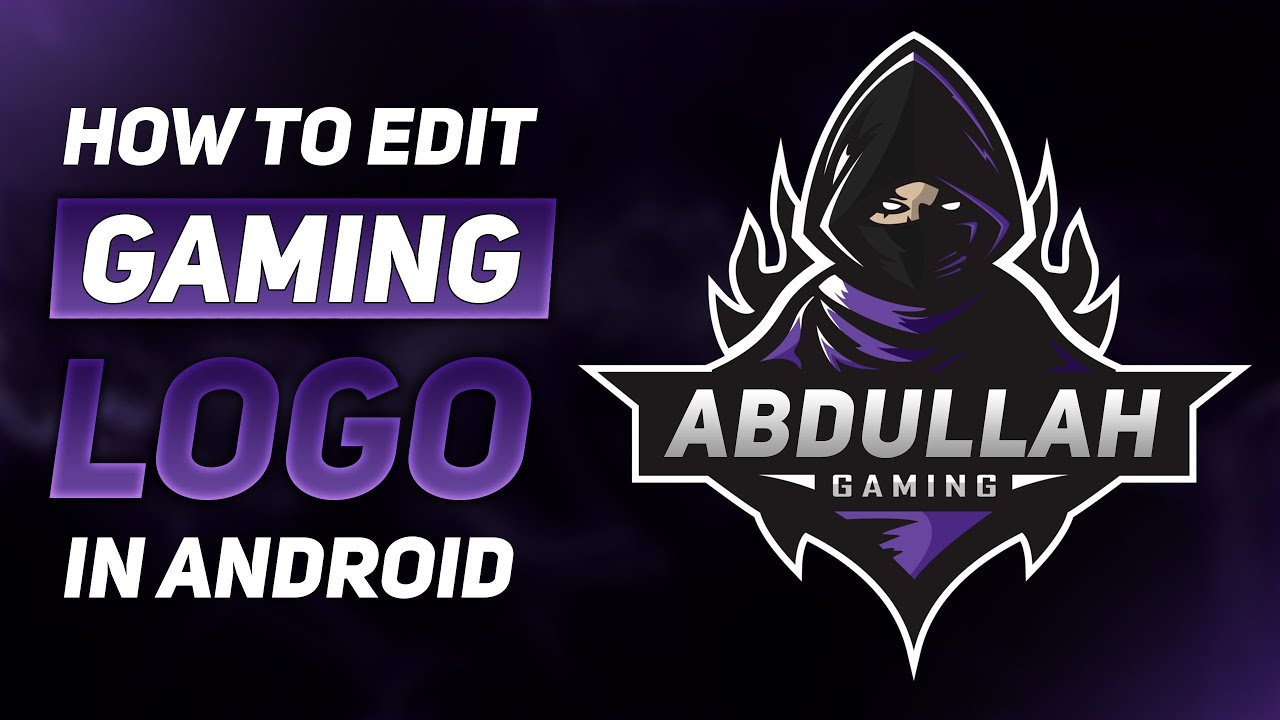 How To Edit Dangerous Gaming Logo In Android