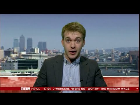 Sam Bowman defends Lord Freud's remarks on BBC News 24