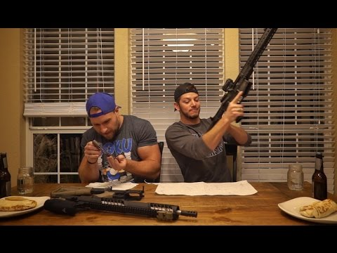 Thumbnail: AR15 Burrito Eating Challenge With FuriousPete