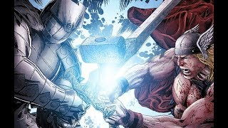 THOR vs. ODIN in the Destroyer Armor