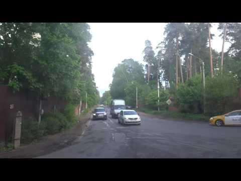 Щёлково, автобус 24, участок Платформа Загорянская - ВШК