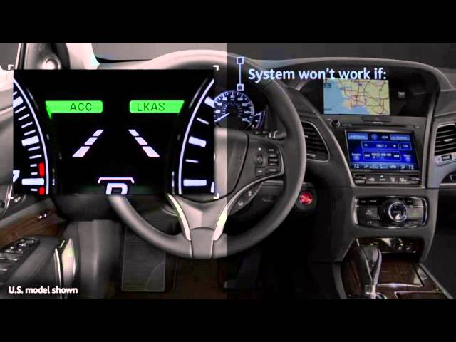 How to Use Acura's Lane Keeping Assist System (LKAS)