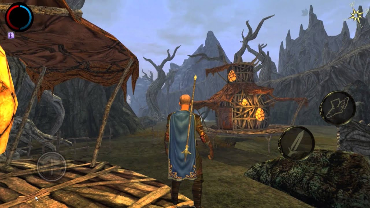 Aralon: Forge and Flame 3d RPG 2 41 APK + OBB (Data File