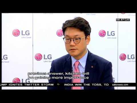SABC speaks to LG Vice President TJ Lee