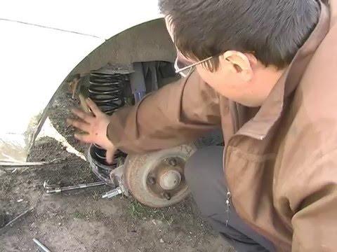 Устройство и ремонт задней подвески (Р). / Ford Focus 1
