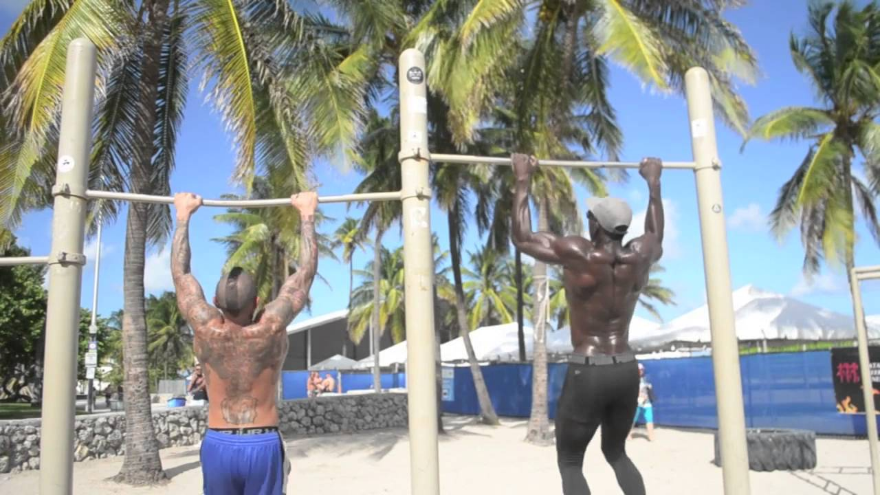 Beat The Gym Workout Remix On South Beach With Tony Thomas Sports