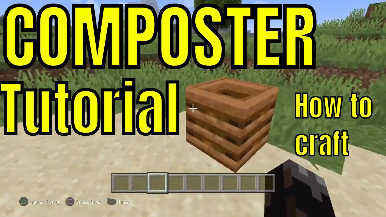 How To Make A Composter In Minecraft You