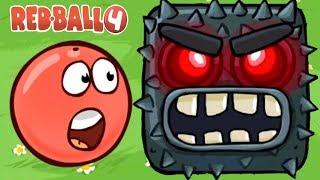 Red Ball 4   Gameplay Walkthrough Part 1 - Green Hills Boss