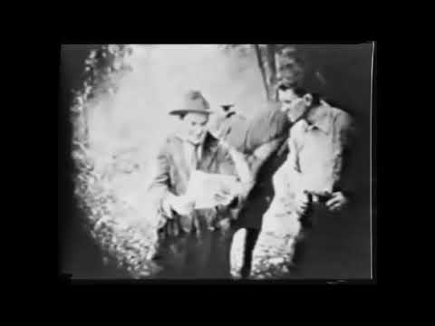 Clip from Wolves of Kultur Episode 1 - 1918 WWI Propaganda Serial Film