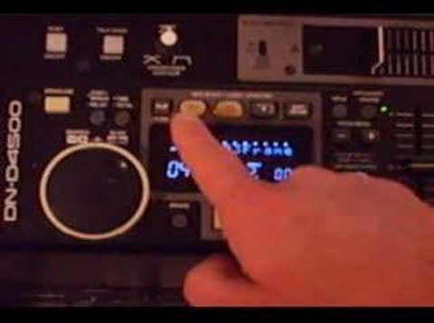 Denon DN-D4500 Cue, Loop, Pitch & Memo Features