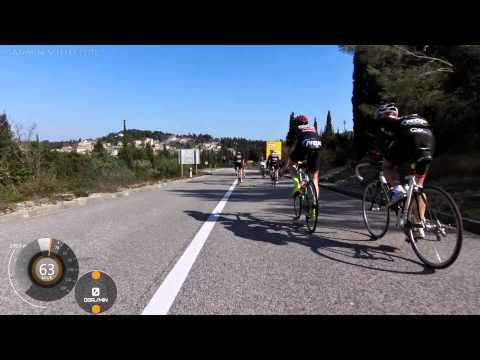 Zgrupowanie Chorwacja 2015 - Gatta Bike Team zjazd do Korculi