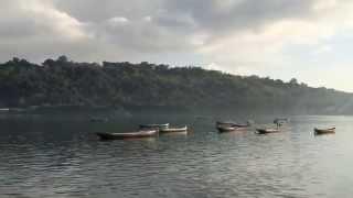 Panorama Pagi sekitar Jembatan Kuning - Nusa Ceningan