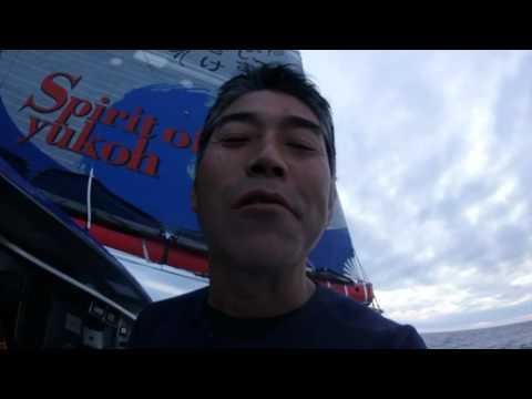 J27 : Du calamar au menu pour Kojiro Shiraishi / Vendée Globe