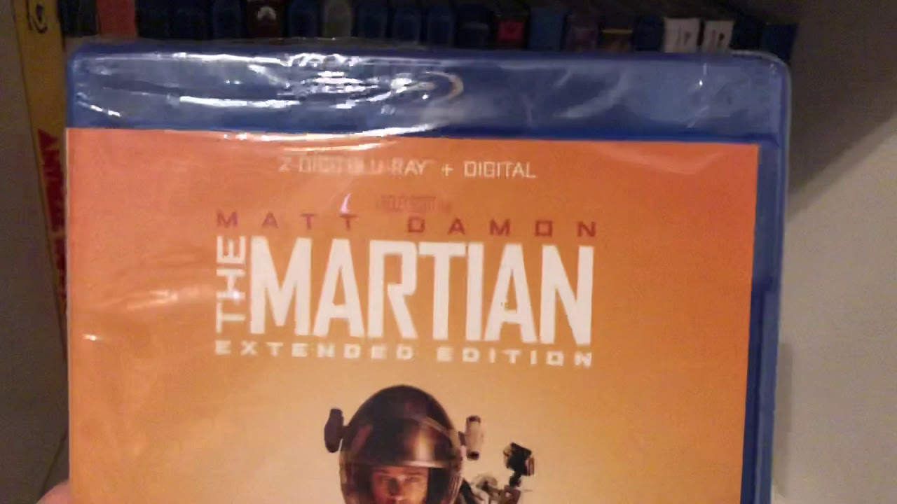 Download The Martian (2015) (extended edition) Blu-ray unboxing