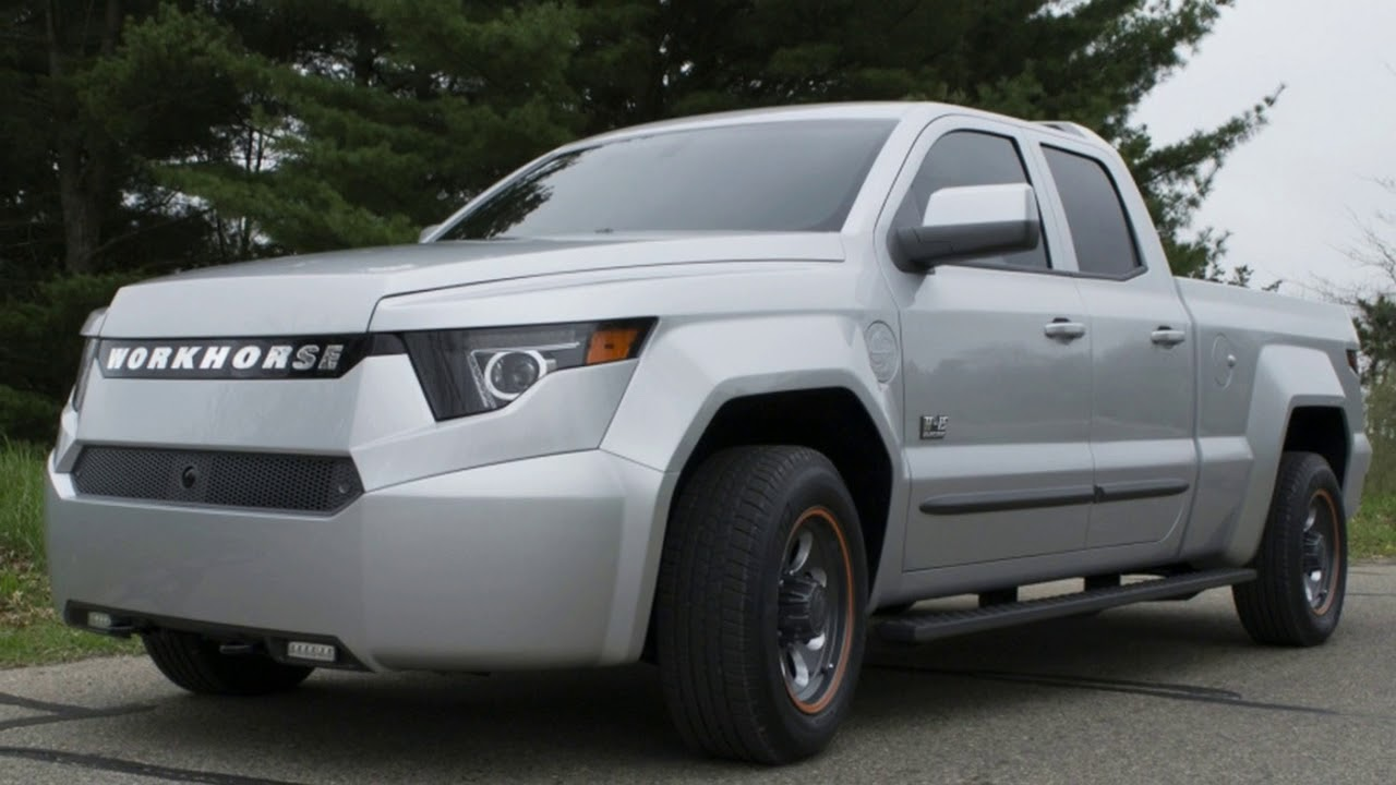 Workhorse W 15 4wd Plug In Electric Work Truck First Drive Review