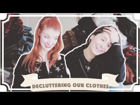 Extreme KONMARI Method Clothes Decluttering // Before & After Marie Kondo!