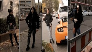 Berlin RED LIGHT DISTRICT : street freelancers girls from BULGARIA and HUNGARY  (part 1)