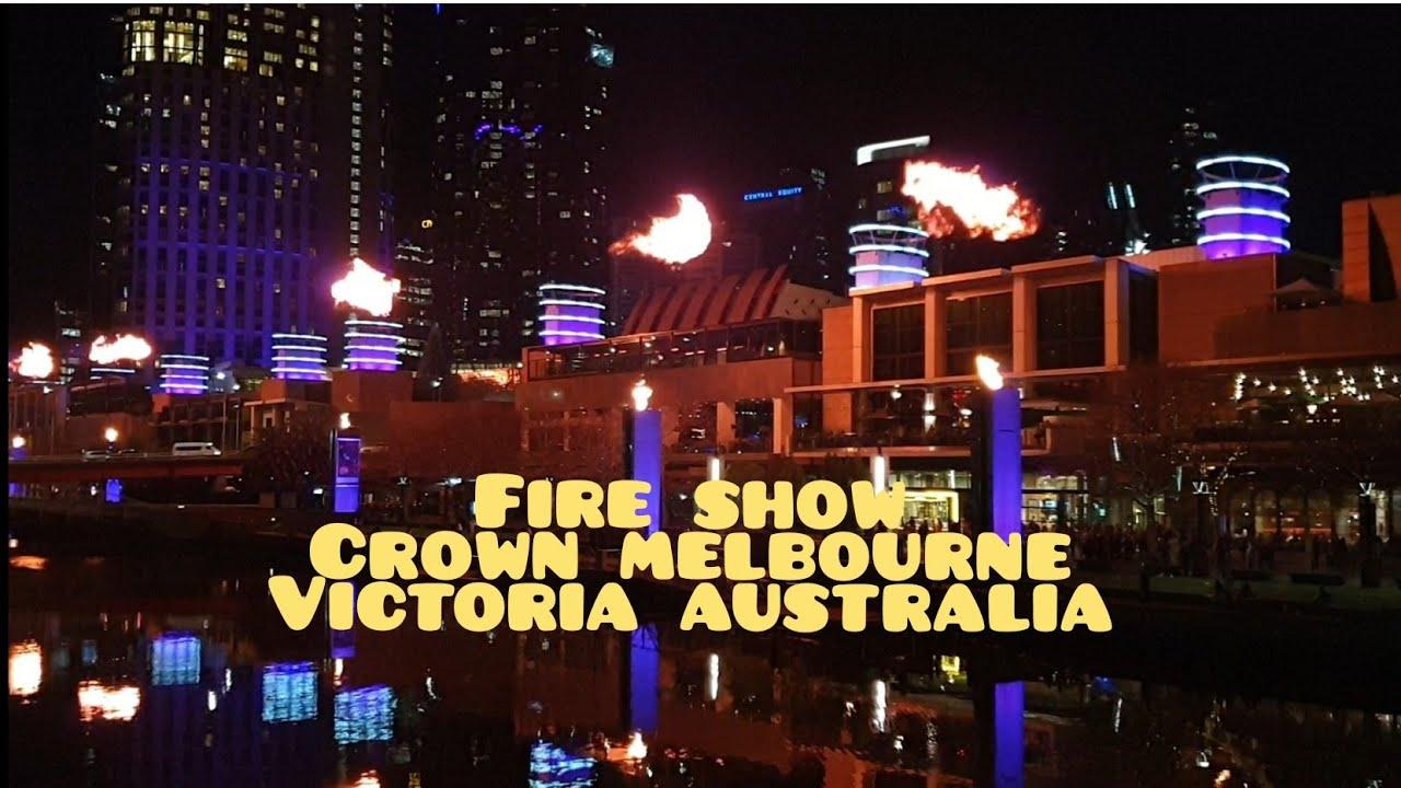 Crown Melbourne Fire Show