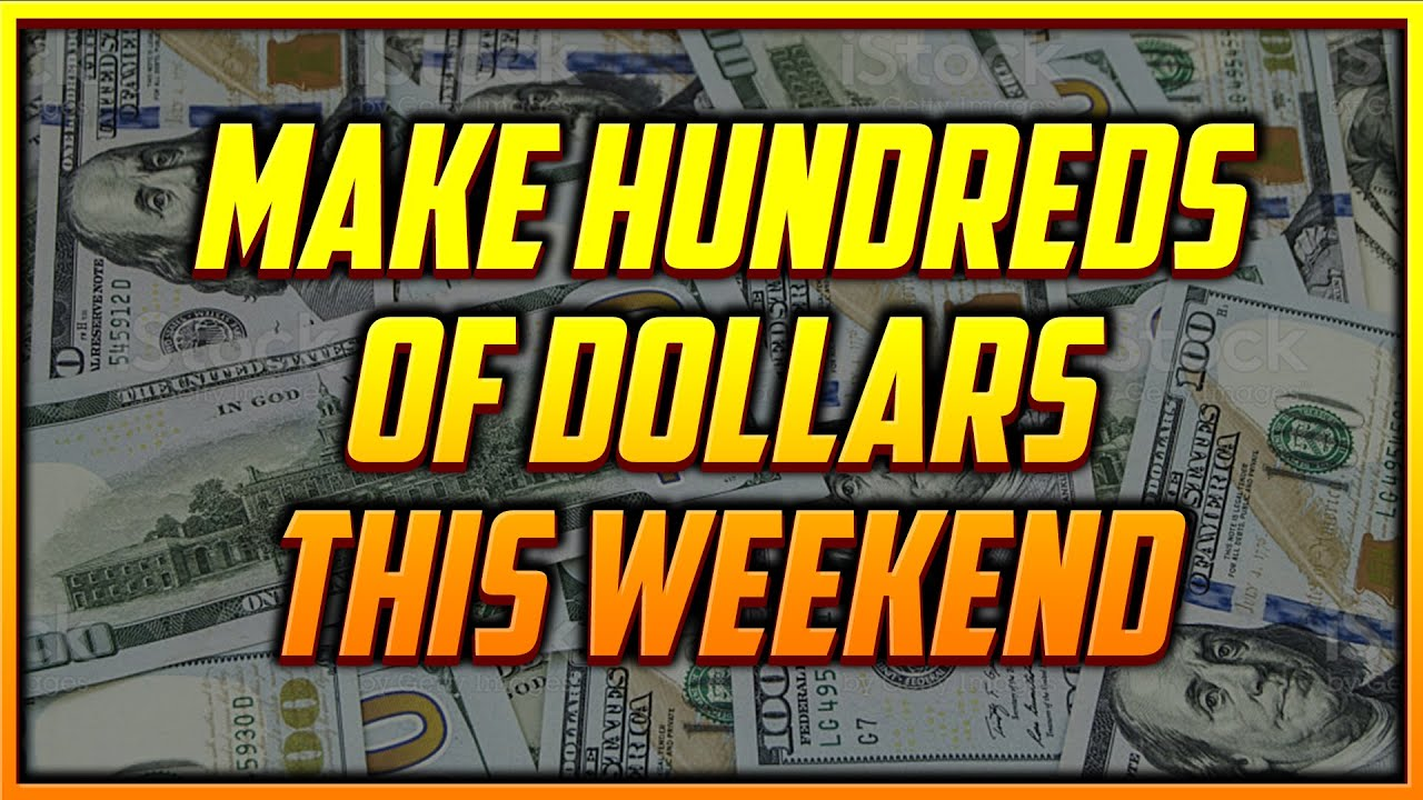 The Quickest Way You Can Make a Few Hundred Dollars