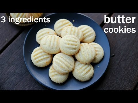 Butter Cookies Recipe   Eggless Butter Biscuits   बटर कुकीज रेसिपी   Easy Cookie Recipes