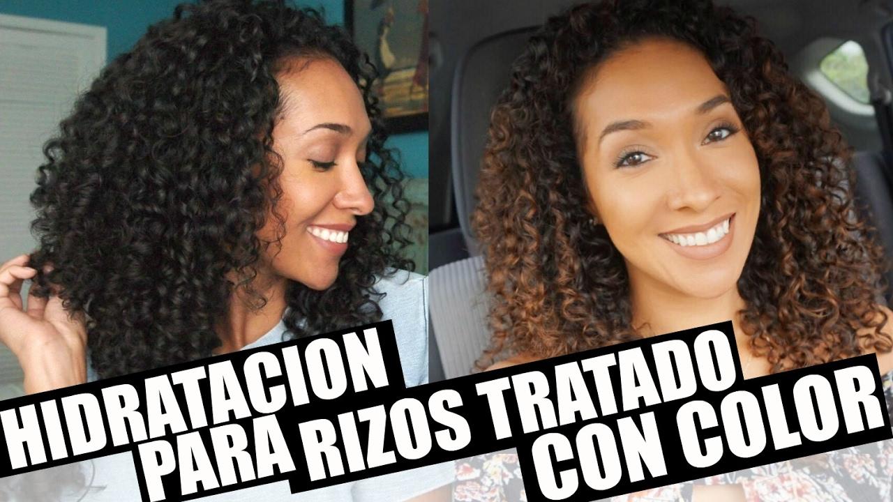 Champu Para Cabello Rizado Y Tenido Peinados Con Estilo 2019