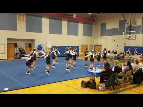 2/19/2017 Epping Middle School Cheerleaders