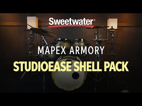 Mapex Armory 6-Piece Studioease Fast Tom Shell Pack Review