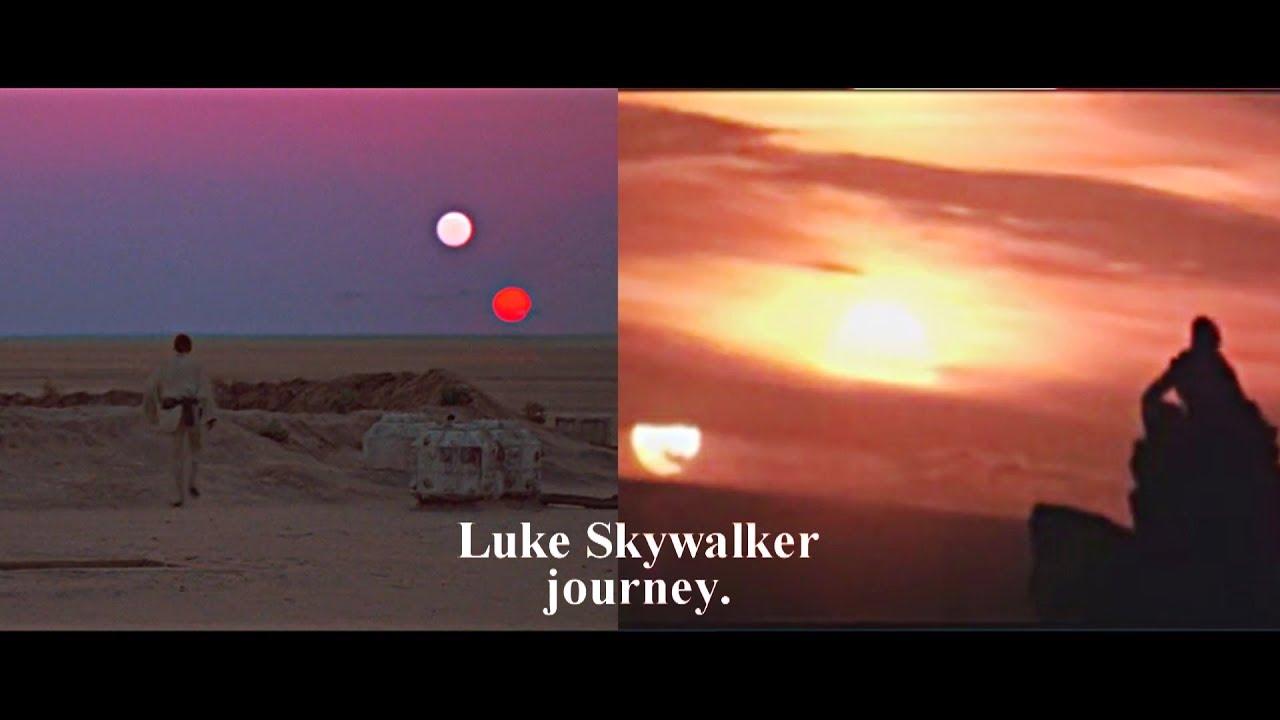Download Luke Skywalker's journey.