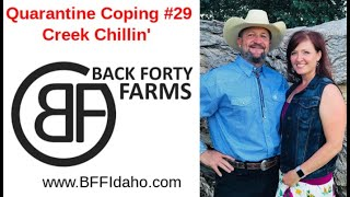 Quarantine Coping #29 - Creek Chillin' - Back Forty Farms