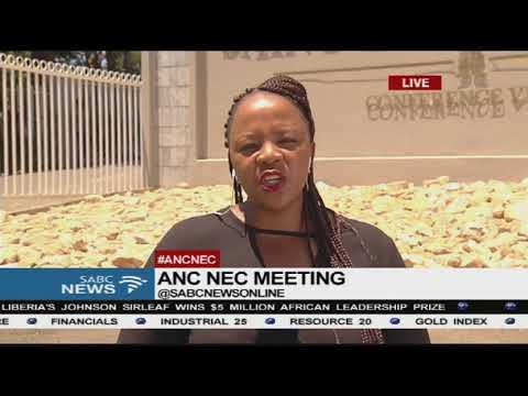 ANC NEC meeting in Irene
