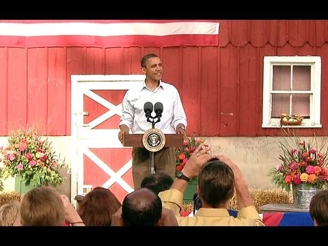 President Obama's Town Hall in Decorah, Iowa
