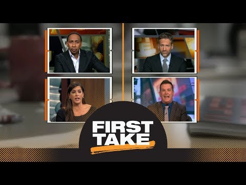 First Take gets into heated debate with Spain and Fitz on Bill Belichick | First Take | ESPN
