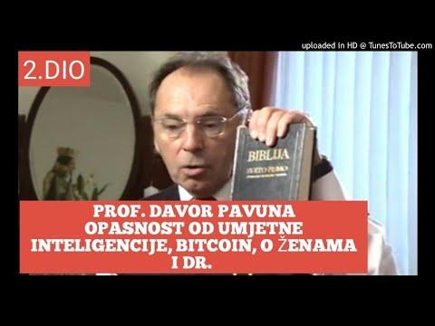 2.dio prof. Davor Pavuna :opasnost od umjetne  inteligencije, Bitcoin, o ženama  i dr.