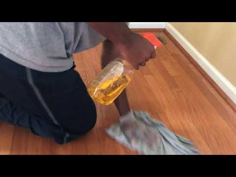 Clean HardWood Floors